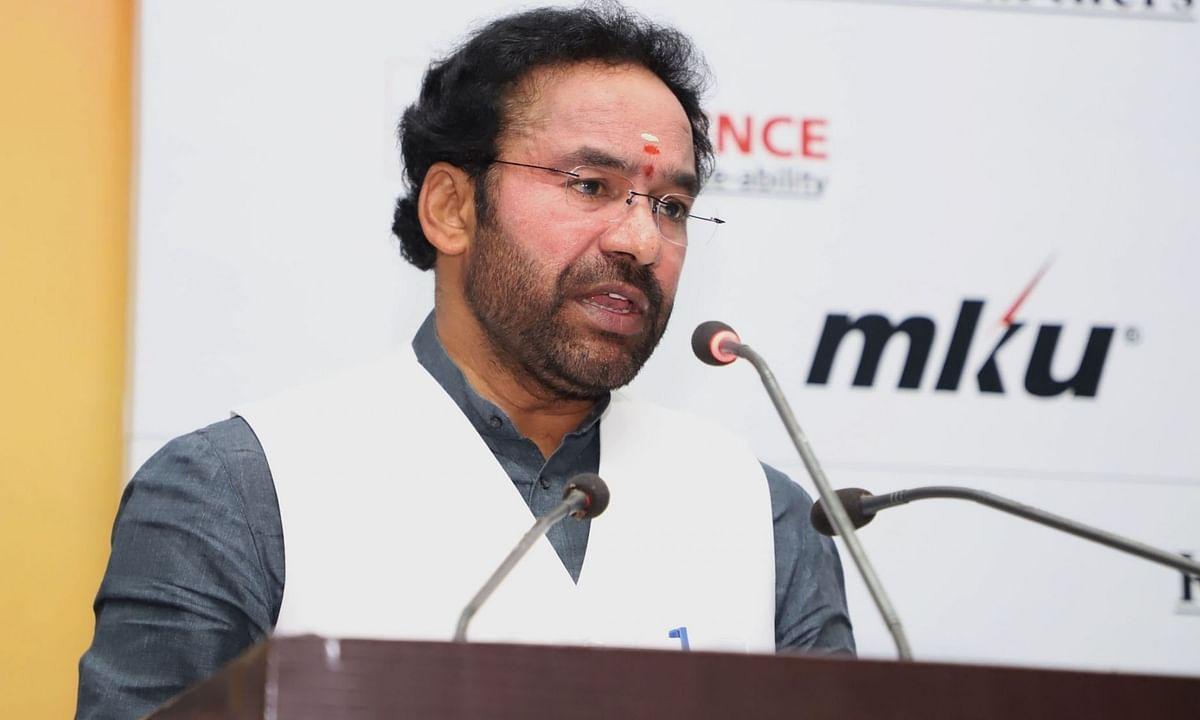 केंद्रीय मंत्री किशन रेड्डी का देशद्रोह कानून को लेकर कांग्रेस पर पलटवार