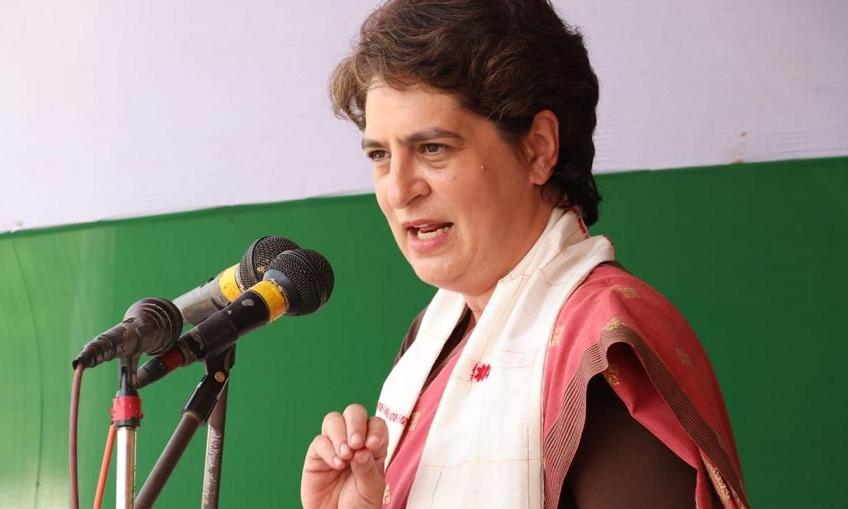 प्रियंका गांधी ने ननों से सवाल-जवाब के मुद्दे पर भाजपा पर निशाना साधा