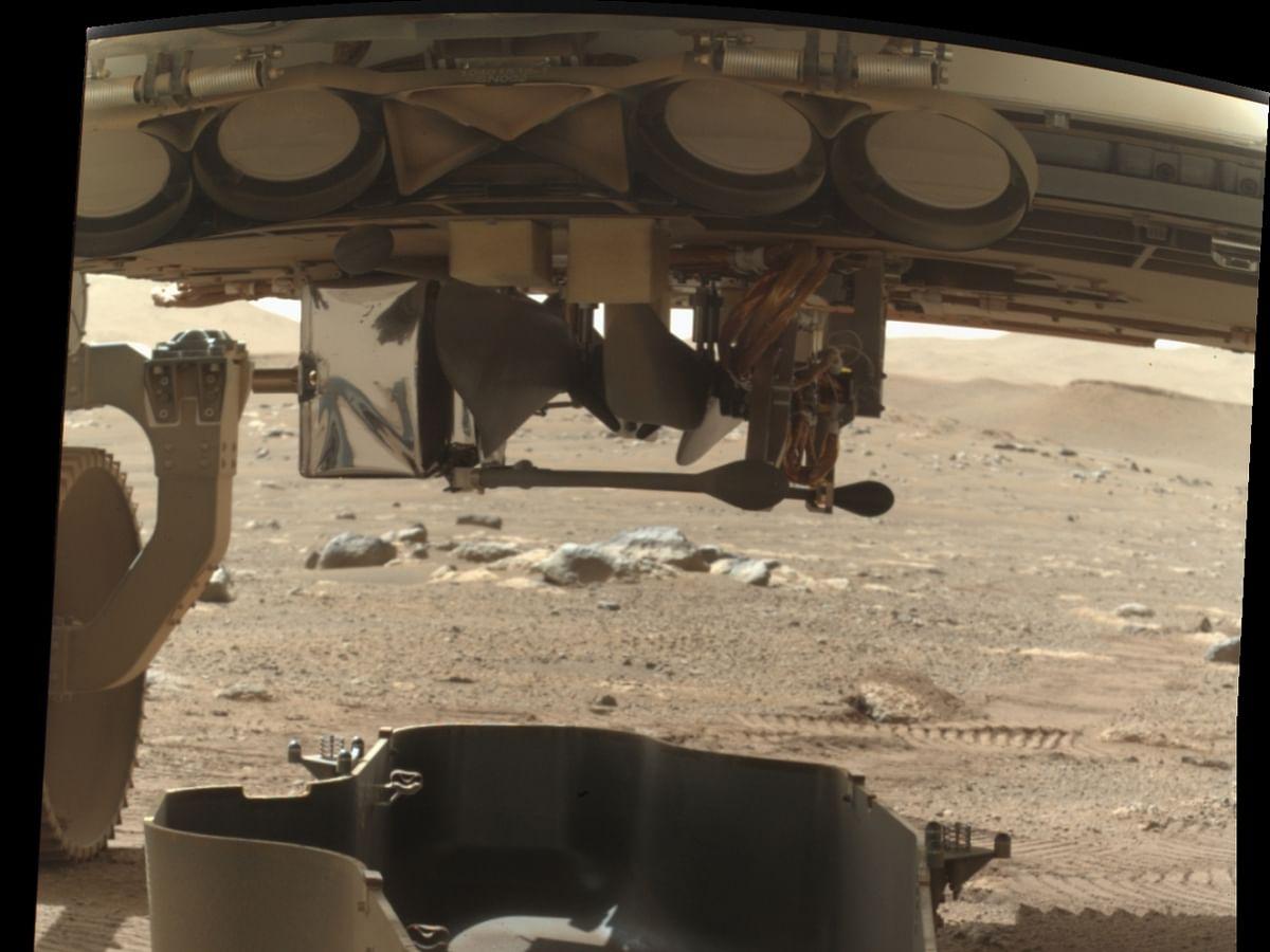 मंगल ग्रह पर मिनी हेलीकॉप्टर को उड़ाने के लिए तैयार नासा