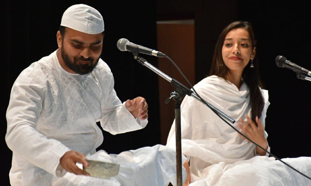 लखनऊ: जयपुरिया इंस्टीट्यूट ऑफ मैनेजमेंट में आयोजित हुआ कार्यक्रम 'किस्सा झाँसी की रानी का'