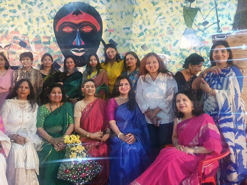 लखनऊ: अनुपमा फाउण्डेशन की ओर से महिला सशक्तिकरण पर आयोजित हुआ कार्यक्रम 'सुखं'