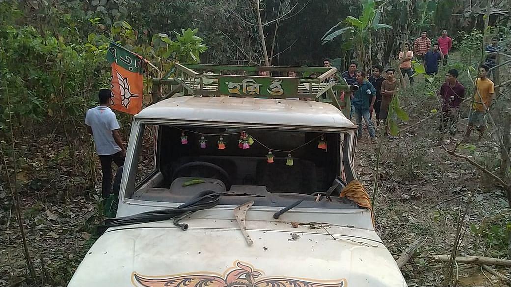 त्रिपुरा: सड़क हादसे में 4 भाजपा नेताओं की मौत