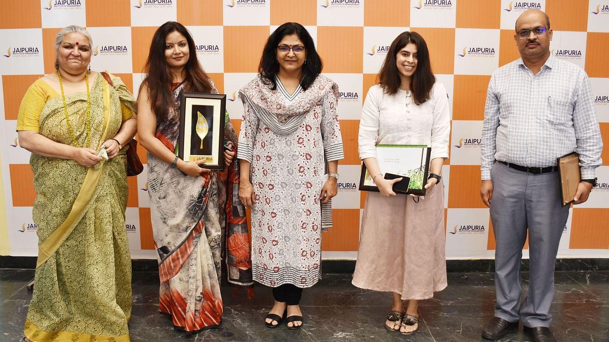 लखनऊ: जयपुरिया इंस्टीट्यूट में 'स्टार्ट अप मेला' कार्यक्रम का हुआ शुभारंभ