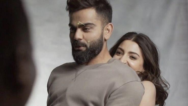 अनुष्का शर्मा ने विराट कोहली को गोद में उठाया, भारतीय कप्तान बोले 'ओ तेरी'