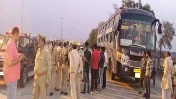 उत्तर प्रदेश: मथुरा जिले में 6 लोगों ने निजी बस यात्रियों को लूटा