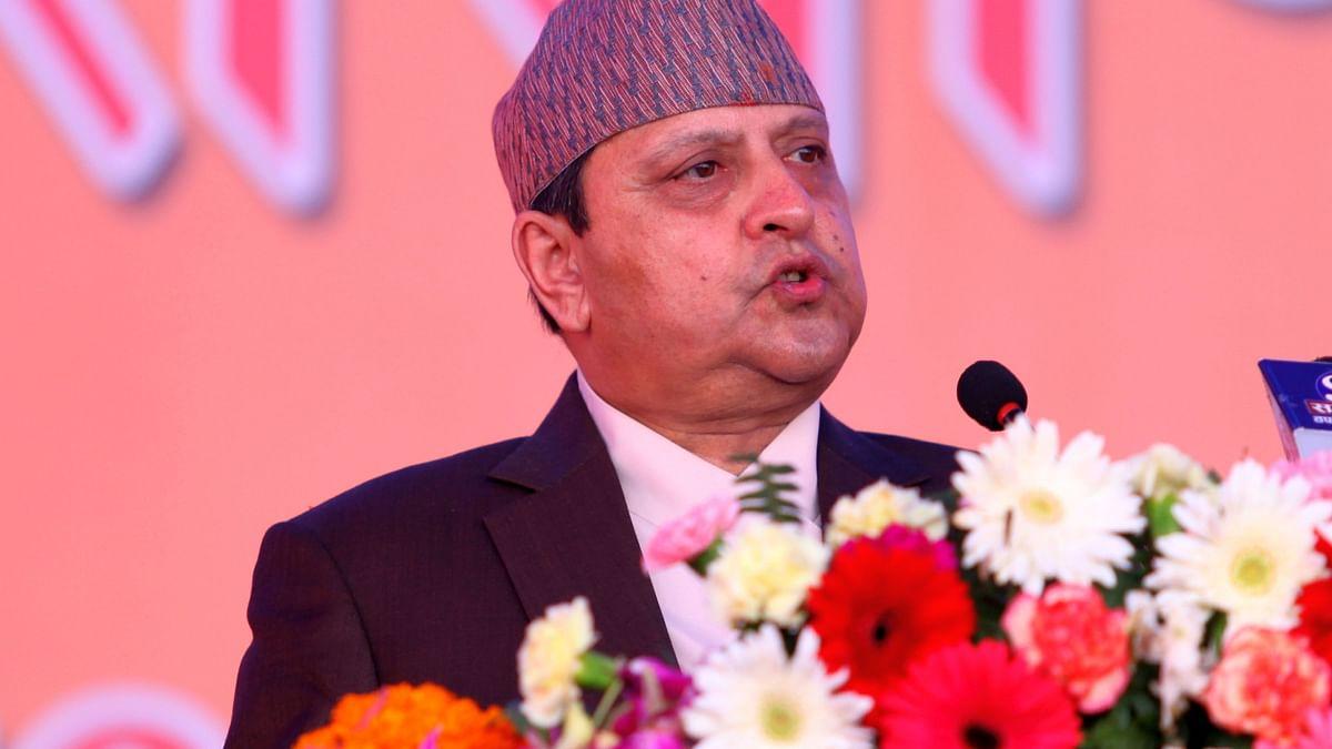 नेपाल के पूर्व राजा कुंभ से लौटने के बाद कोविड पॉजिटिव