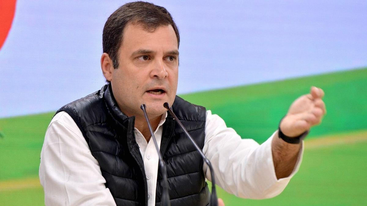 राहुल गांधी ने सरकार पर साधा निशाना, बोले मत बनाओ भारत को भाजपा सिस्टम का 'विक्टिम'