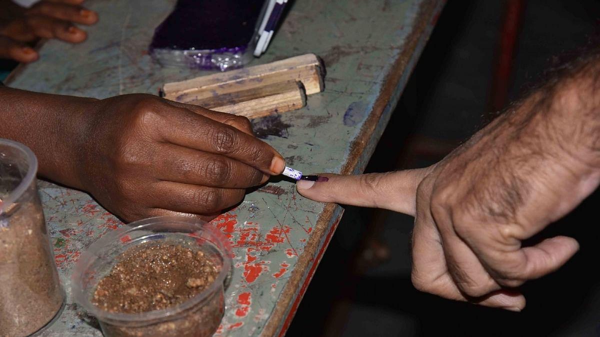 तेलंगाना के नागार्जुनसागर विधानसभा उपचुनाव के लिए मतदान जारी