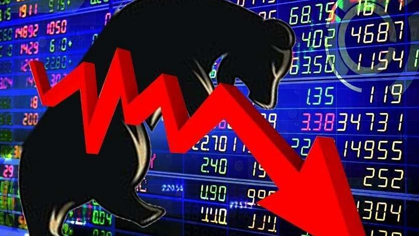 कोरोना के कहर से टूटा शेयर बाजार, सेंसेक्स 500 अंक लुढ़का