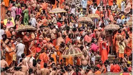 हरिद्वार: कोरोना के बढ़ते प्रकोप की वजह से निरंजनी अखाड़े ने किया समय से पहले ही कुंभ का समापन