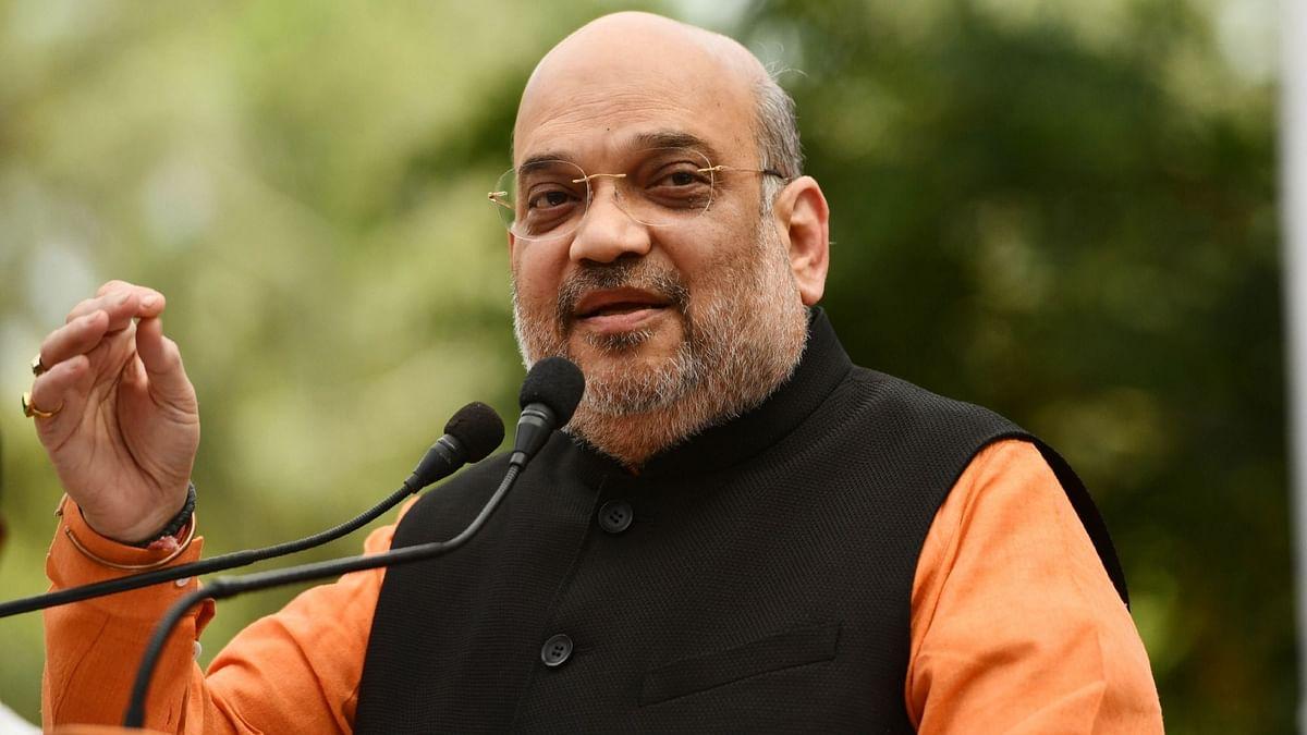 गृहमंत्री अमित शाह ने ममता के 3'टी' और मोदी के 3'वी' मॉडल में बताया अंतर