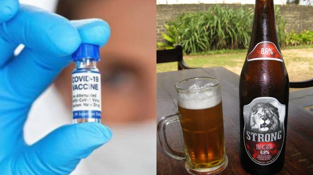 कर्नाटक में 45 से कम उम्र वाले को फ्री वैक्सीन और शराब की होम डिलीवरी की जाएगी