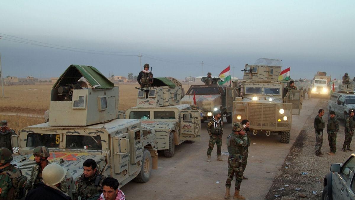इराक हवाई हमले में 60 आईएस आतंकी मार गिराए गए