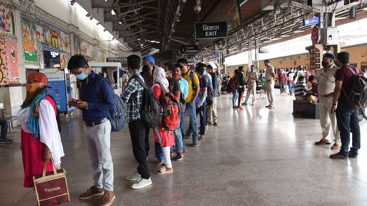 रेल परिसर, ट्रेनों में फेस मास्क न लगाने पर लगेगा 500 रु जुर्माना
