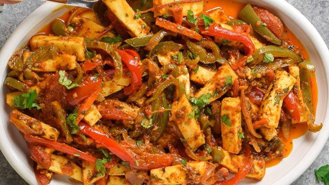 Recipe : Paneer Jalfrezi (पनीर जालफ्रेंजी)