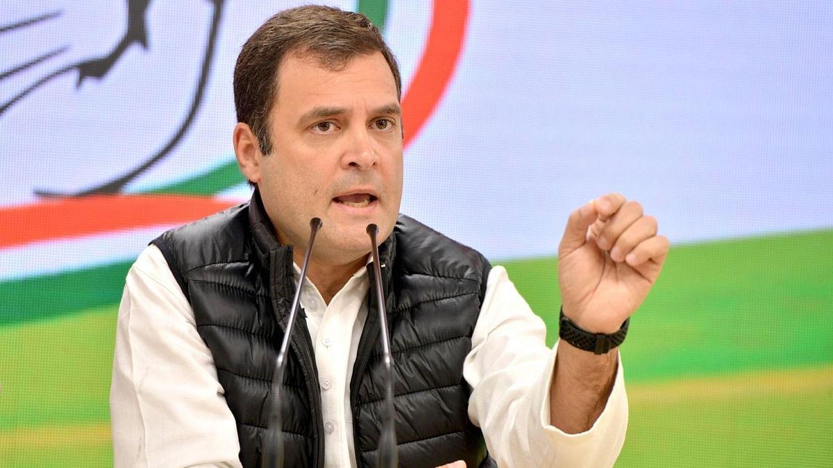 राहुल गांधी ने बंगाल में अपनी सभी रैलियां की रद्द