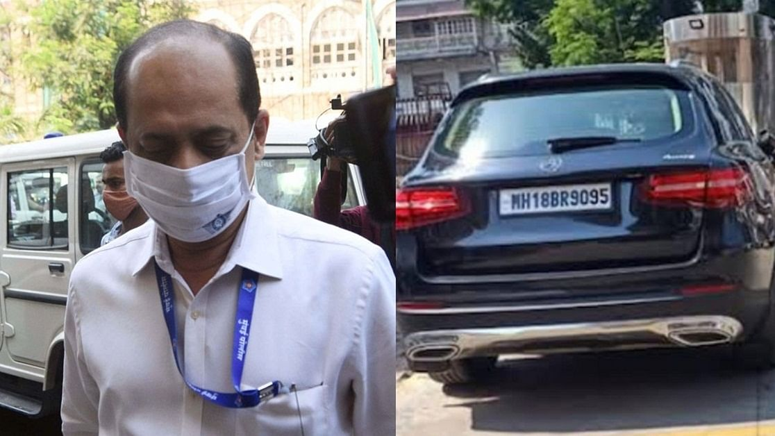 SUV Case: राष्ट्रीय जांच एजेंसी की हिरासत में सचिन वाजे के साथ दिखी 'मिस्ट्री वुमन'