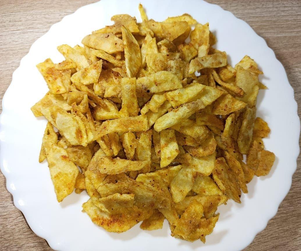 Navratri Special Recipe : Crispy Potato Chips (क्रिस्पी आलू चिप्स)