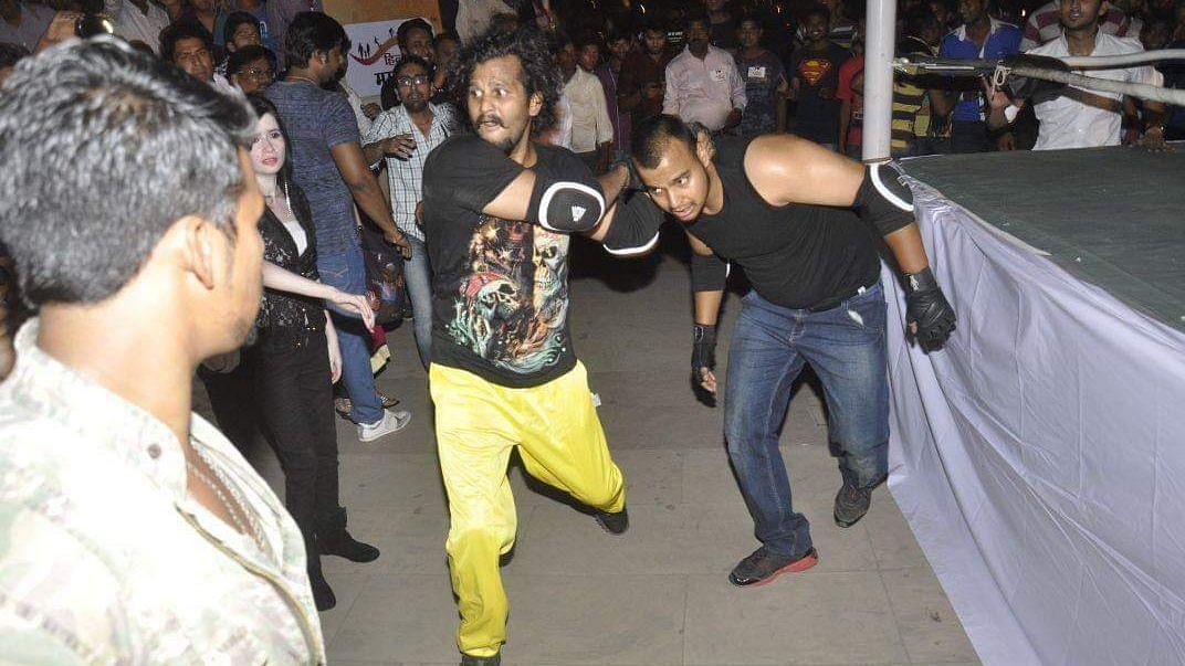 लखनऊ: पहचान बनाने में लगे 8 साल, इंडियन प्रो-रेस्लिंग में जाना पहचाना नाम 'टाइगर खान'