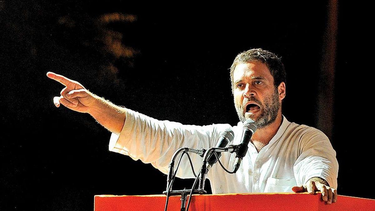 राहुल गाँधी का पीएम पर हमला, कहा 'मोदी द्वारा मचाई गई शमशान और कब्रिस्तान में तबाही'