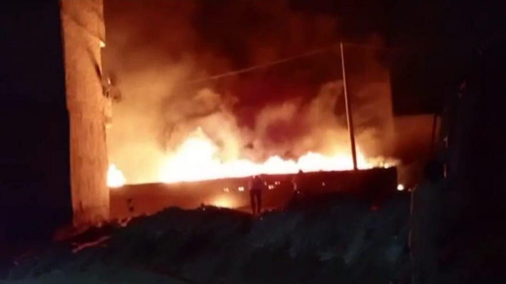 बगदाद: अस्पताल में आग लगने से 82 लोगों की मौत