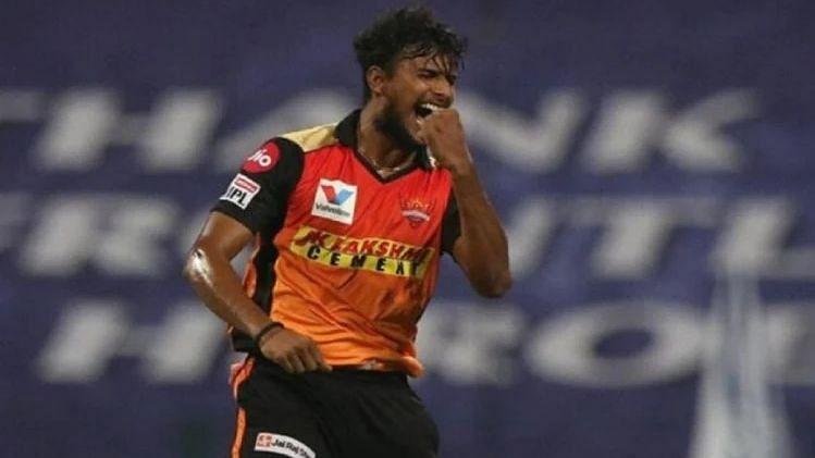 चोट के कारण नटराजन IPL से बाहर: रिपोर्ट