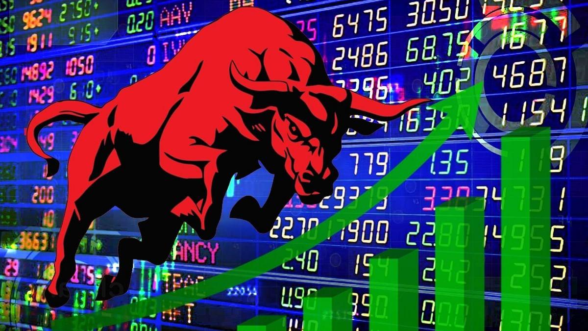 शेयर बाजार में बढ़त के साथ कारोबार, सेंसेक्स 150 अंक चढ़ा