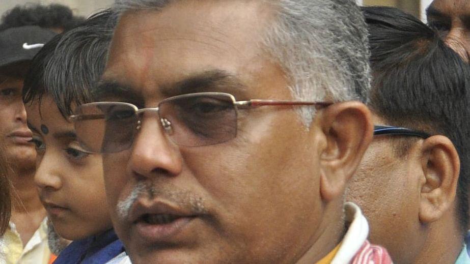 चुनाव आयोग ने दिलीप घोष के चुनाव प्रचार पर लगाई 24 घंटे की रोक