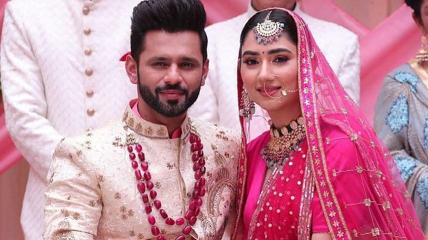 संगीत वीडियो की तस्वीर ने राहुल वैद्य और दिशा परमार की शादी की खबरों को दी हवा
