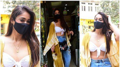 इलियाना डिक्रूज के आउटफिट पर फूटा लोगों का गुस्सा, बोले- 'ऐसे कपड़े क्यूँ पहनती हैं'