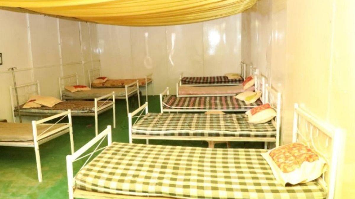 कुंभ मेले में 50 बेड का अस्थायी अस्पताल