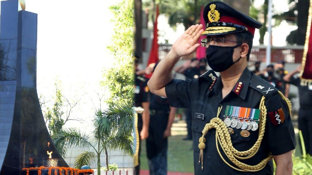 लखनऊ: सेना चिकित्सा कोर 257वीं वर्षगांठ के अवसर पर जाबांज शहीद सैनिकों को अर्पित की गयी श्रद्धांजलि