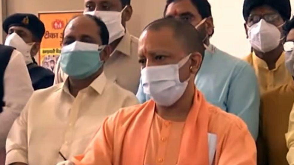 उत्तर प्रदेश: मुख्यमंत्री के ग्राउंड जीरो पर उतरने का दिख रहा असर, संक्रमण में आ रही गिरावट
