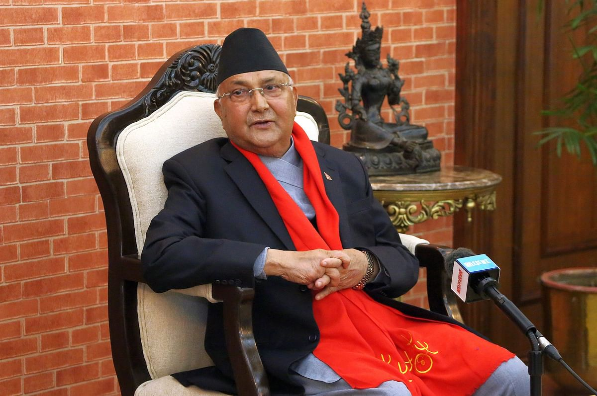ओली नेपाल के पीएम के रूप में फिर से नियुक्त