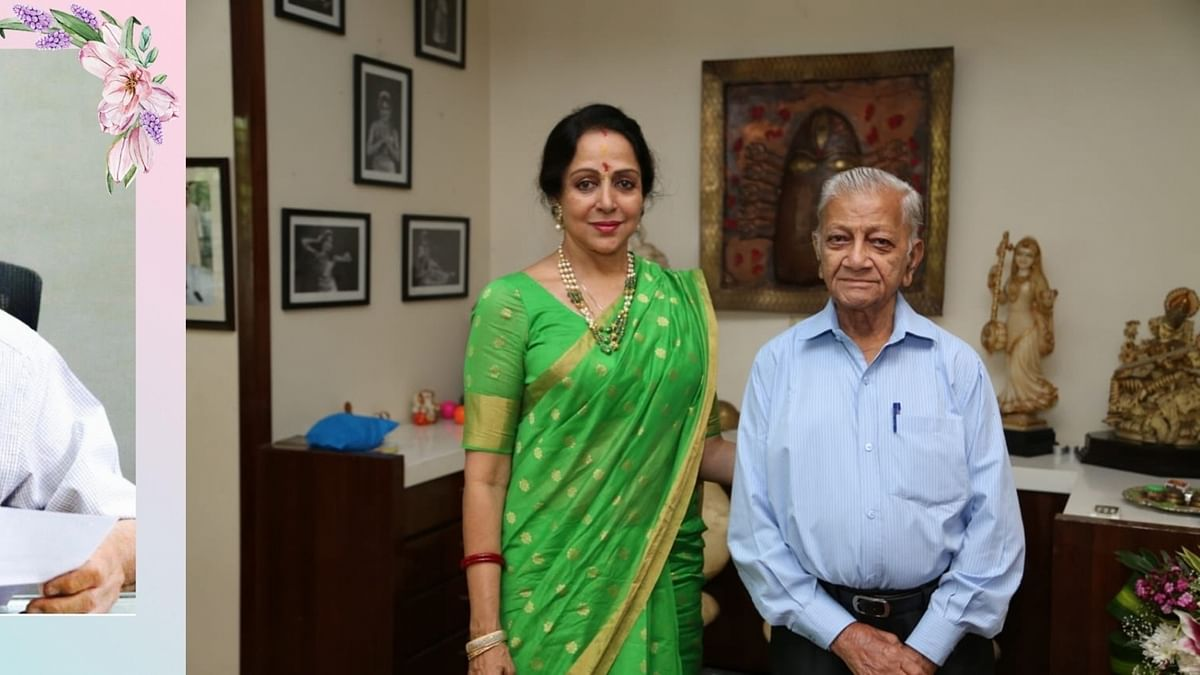हेमा मालिनी ने अपने सचिव के निधन पर शोक व्यक्त किया