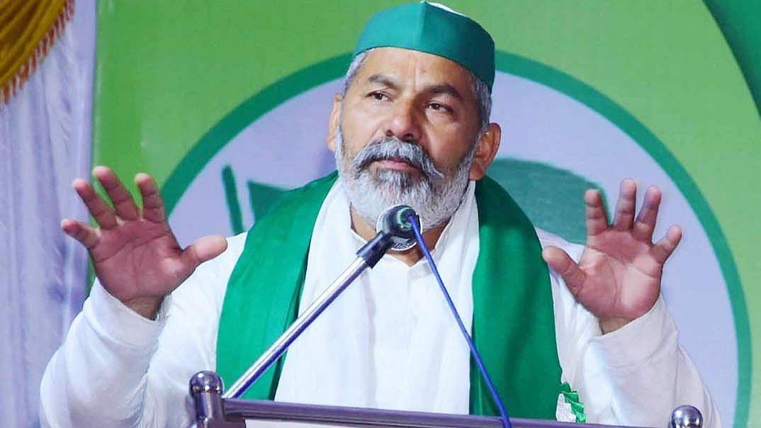 हरियाणा में भाकियू नेता टिकैत और 12 अन्य के खिलाफ केस दर्ज
