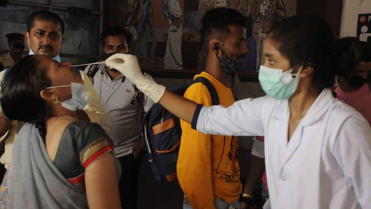 जम्मू-कश्मीर: 3,408 नए कोविड मामले, 48 मौतें