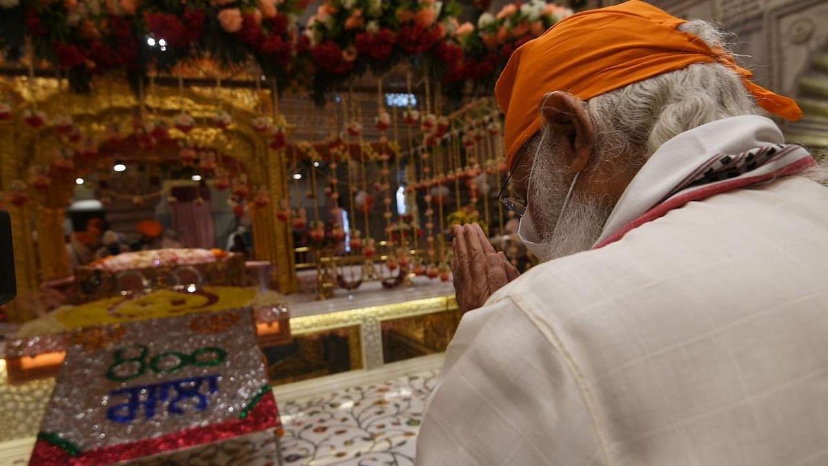 गुरु तेग बहादुर का 400वां प्रकाश पर्व: PM मोदी ने शीशगंज साहिब गुरुद्वारा में नवाया सिर