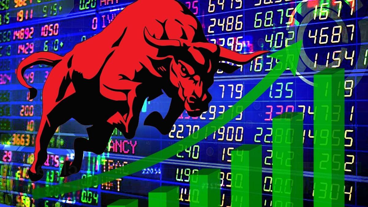 सेंसेक्स 500 प्वाइंट उछला, बैंकिंग और फाइनेंस शेयरों में तेजी