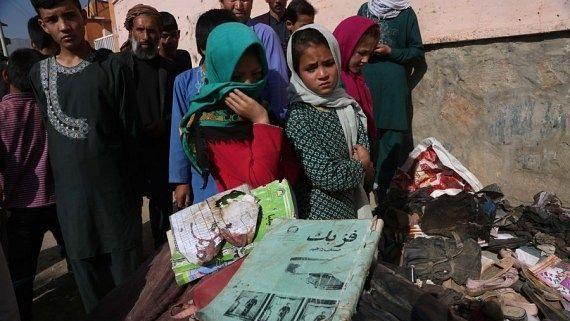 काबुल स्कूल के पास विस्फोट, मरने वालों की संख्या 50 पहुंची