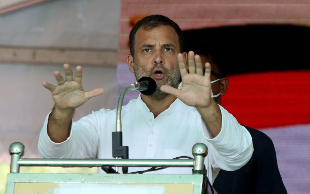 सरकार विफल रही लेकिन दूसरों की सेवा करने वाले नायकों का आभार : राहुल गांधी