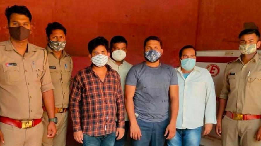 लखनऊ: सआदतगंज पुलिस ने वांछित चार युवकों को किया गिरफ्तार