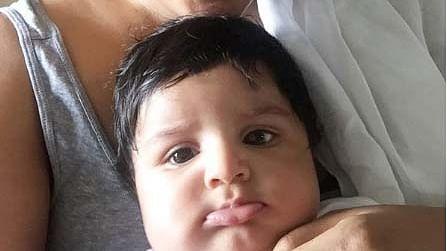 बेटे के जन्मदिन पर समीरा रेड्डी ने कहा उन्हें 'मम्मा का छोटा लड्डू'