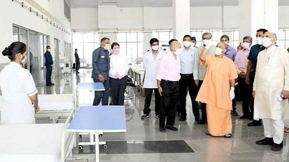 लखनऊ: मुख्यमंत्री योगी ने किया सुल्तानपुर रोड स्थित नवनिर्मित कैंसर हास्पिटल का उद्घाटन