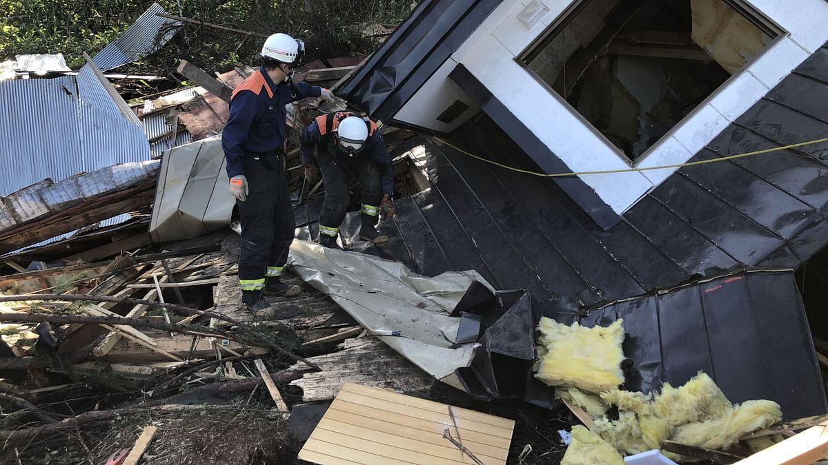 जापान के होक्काइडो में 6.1 तीव्रता का भूकंप