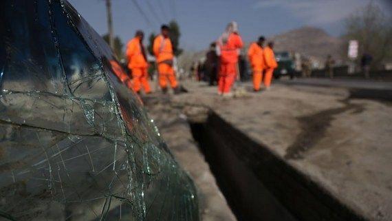 काबुल के एक स्कूल में हुआ विस्फोट, 33 लोगों ने गवाईं जान, 55 घायल