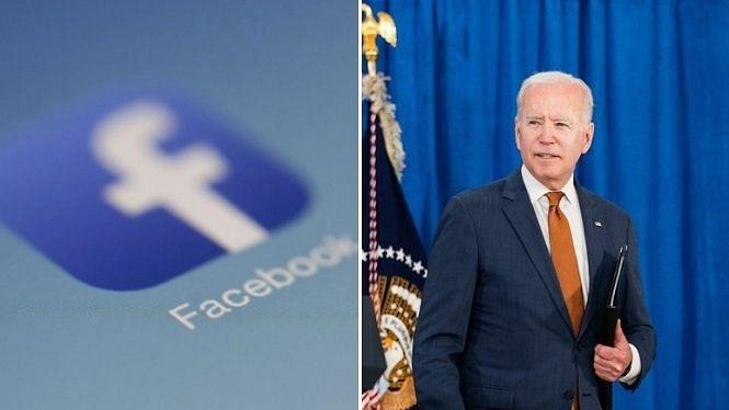 फेसबुक कोविड के बारे में गलत सूचनाएं देकर 'नुकसान' कर रहा है: जो बाइडेन