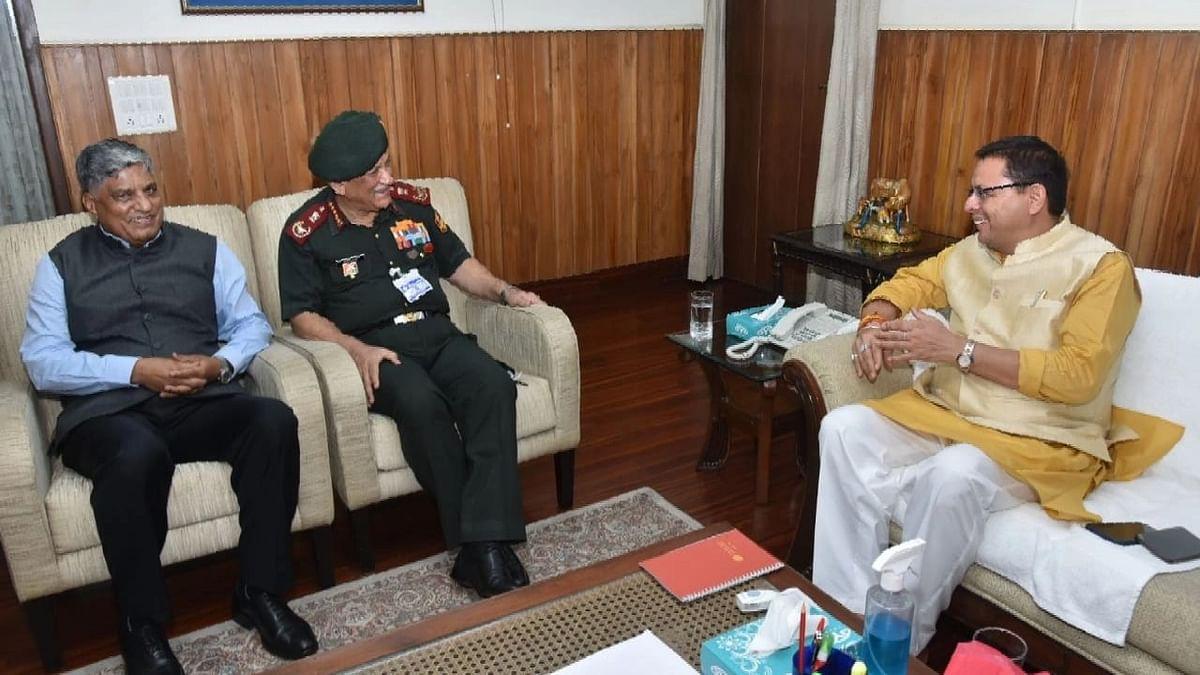 CDS जनरल व NTRO चीफ से उत्तराखंड CM की मुलाकात, सीमांत क्षेत्रों के विकास पर हुआ विचार विमर्श