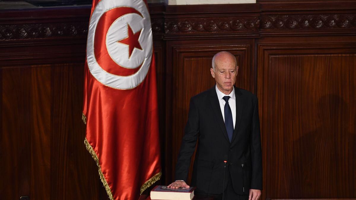 ट्यूनीशियाई राष्ट्रपति को मिली कोविड वैक्सीन की पहली खुराक