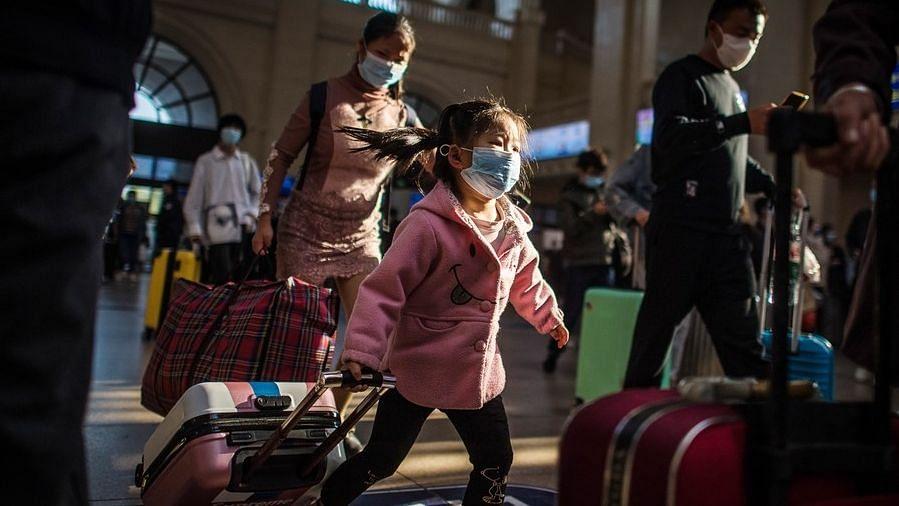 चीनी शहर में कोरोना के नए मामले आने के बाद प्रतिबंध लागू